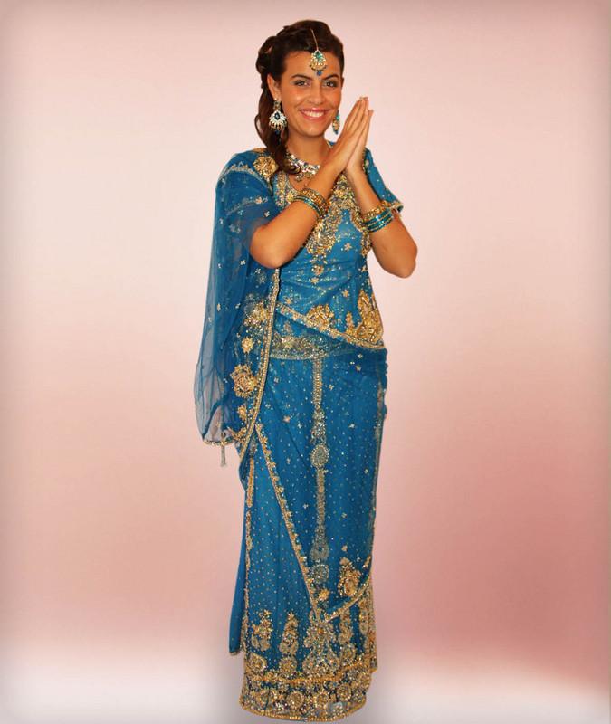 Mariage sari indien bollywood tenue indienne tissu caftan for Architecture indienne