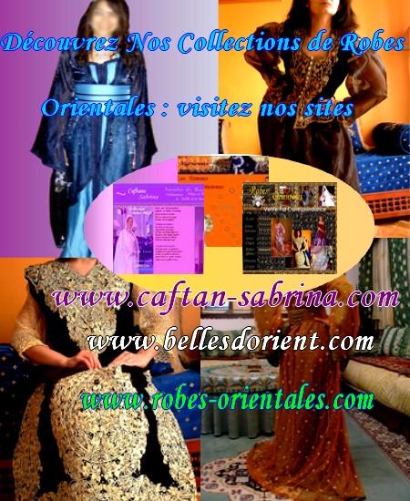 caftansabrina sp cialistes de vente par correspondance de caftans. Black Bedroom Furniture Sets. Home Design Ideas